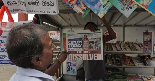 Sri Lankan  leader dissolves Parliament, calls August polls