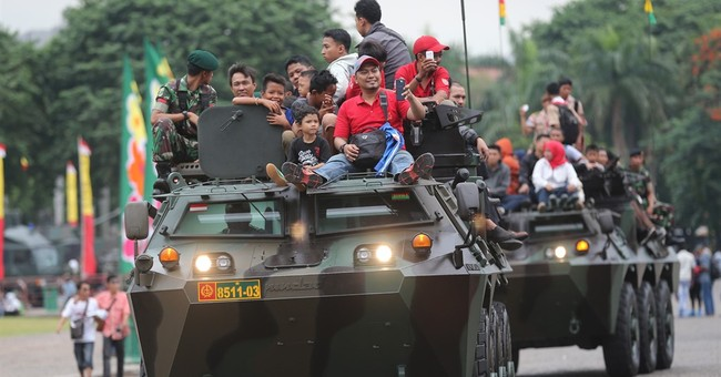 Indonesian army inches back into civilian sphere