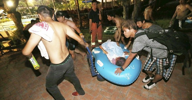 More than 500 injured as fire hits Taiwan water park party