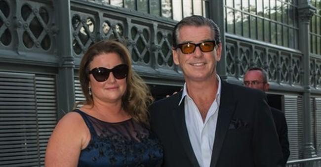 Gary Oldman, Pierce Brosnan sons model for Saint Laurent