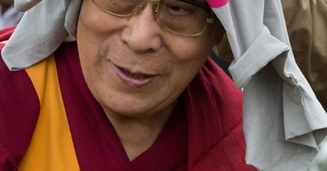 Dalai Lama joins Patti Smith on Glastonbury festival stage