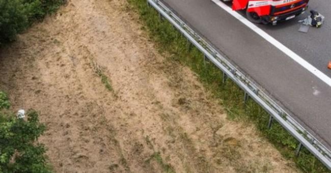 Bus carrying British children crashes in Belgium; 1 dead