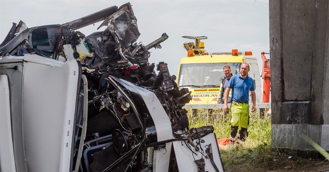 Bus carrying British children crashes in Belgium; 1 dead