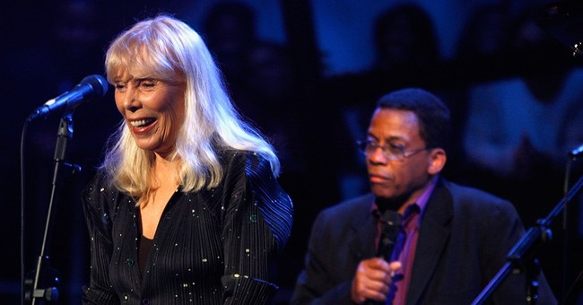 Joni Mitchell rep says she had aneurysm, but recovering well
