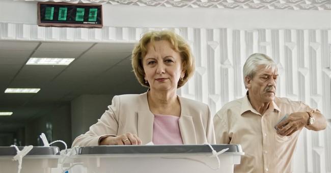 Pro-European candidate leads in Moldova vote