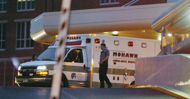 The Latest: DA: Injured killer has different escape story