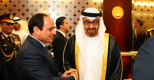 Egyptian President el-Sissi pays visit to Gulf ally UAE