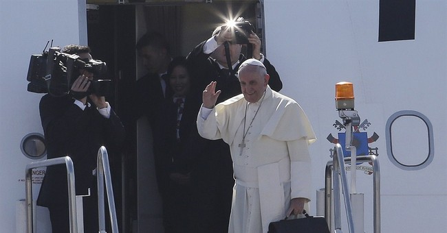 POPE WATCH: Pope Francis heads home