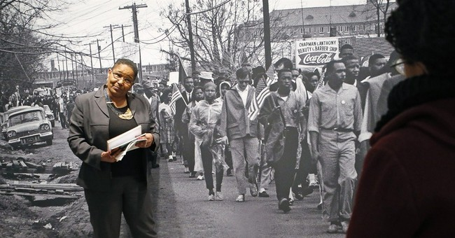 Youngest participant in 1965 Selma march describes the day