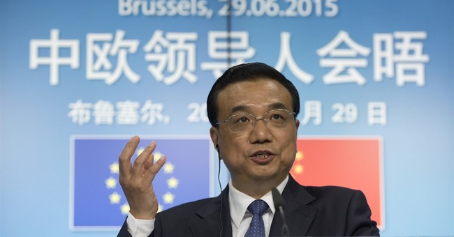 Chinese premier calls for deal to keep Greece in eurozone