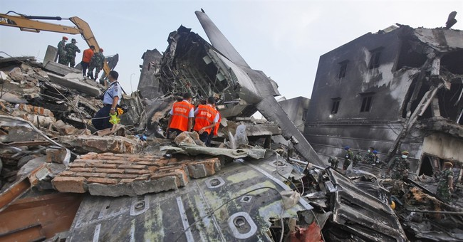 The Latest on Indonesia: 32 passengers no links to military