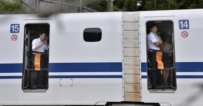Passenger sets self on fire on Japan's bullet train