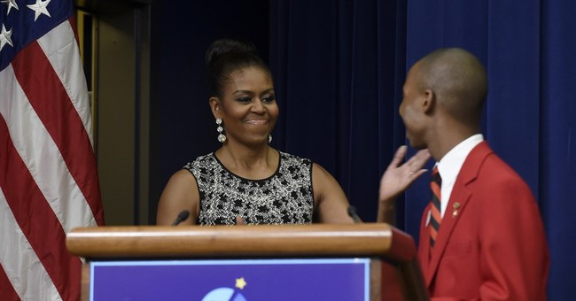 First lady: Career, technical studies offer students options