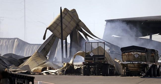 Western wildfires: Progress against Washington fires