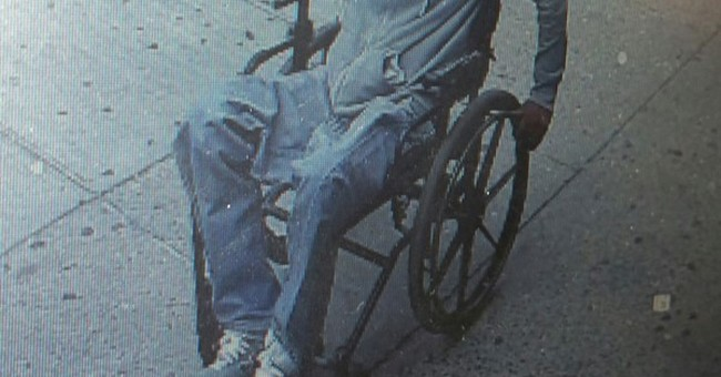 Man in wheelchair robs bank in New York, makes getaway