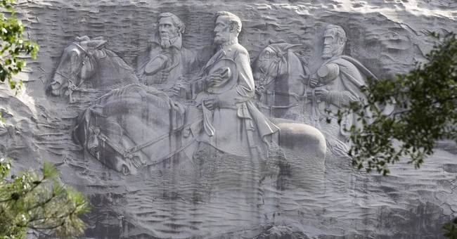 Embattled rebel flag reassessed at Georgia's Stone Mountain