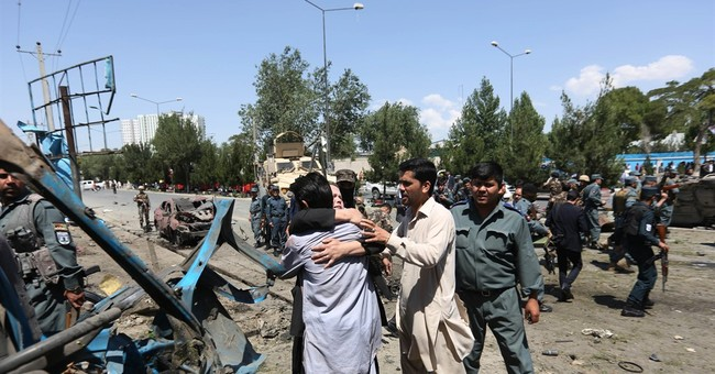 Suicide attack targets NATO convoy in Afghanistan, 2 dead