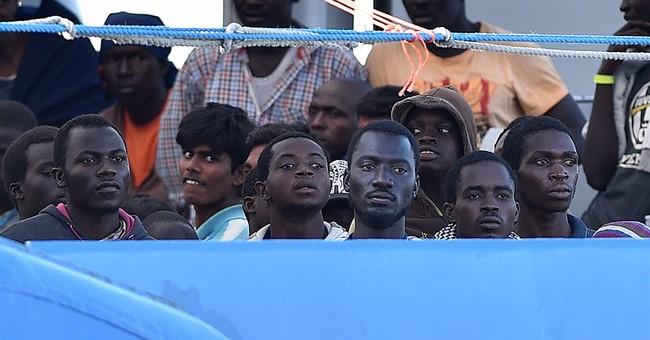 UN: migrant crossings to Europe jump 83 percent in 1st half