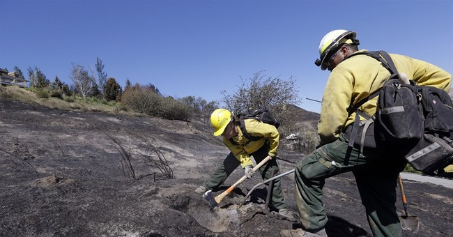 Officials rule out natural causes in Washington state blaze