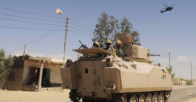 The Latest: Israel PM offers condolences over Sinai attacks