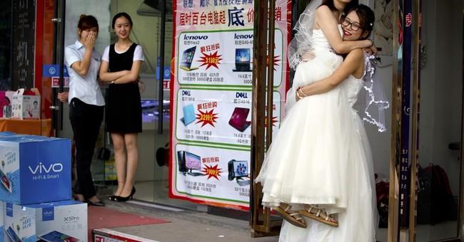Image of Asia: Gay wedding in Beijing