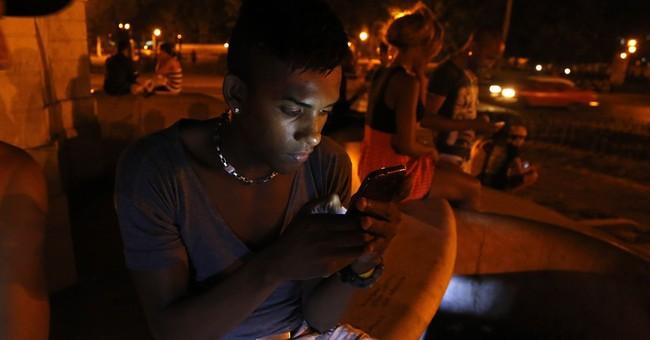Cuba launches 1st public Wi-Fi hotspots on Havana avenue