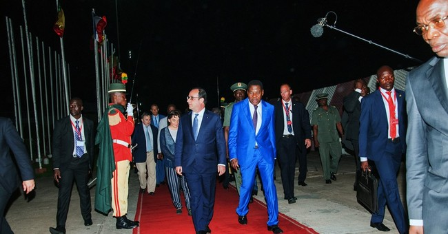 French president starts 2-day visit to Africa