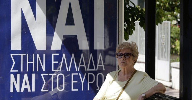 The Latest: Greek premier wants biggest 'no' vote possible