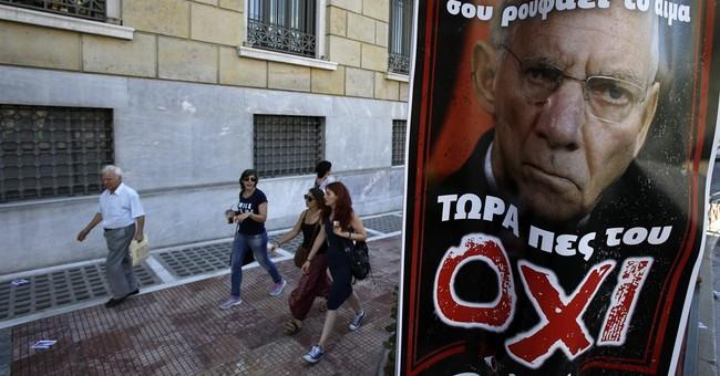 The Latest: Greek premier wants biggest 'no' vote possible