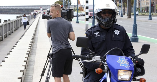 TV news crews robbed of cameras during live broadcasts