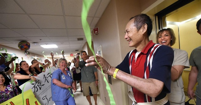Minnesota burn survivor leaves hospital after 264 days