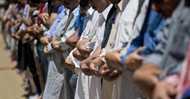 Image of Asia: Ramadan prayers in Indian Kashmir