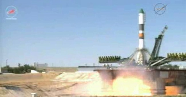 Russian craft delivers long-awaited cargo to space station