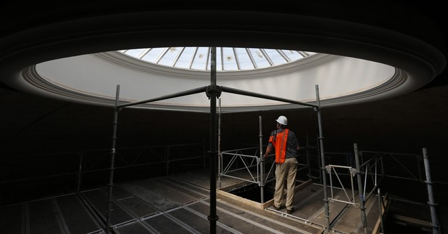 Jefferson's iconic U.Va. Rotunda amid $58 million face-lift
