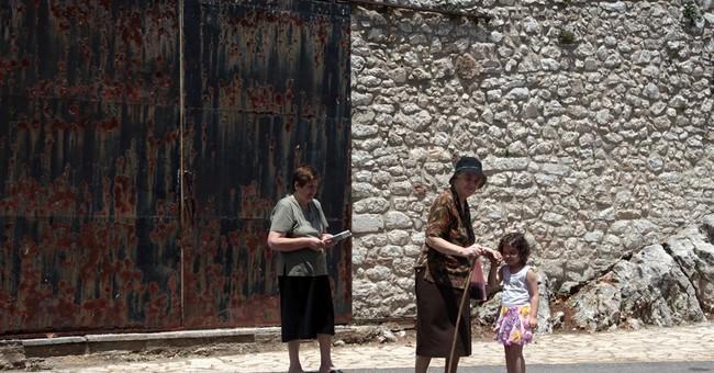 Greek villagers' secret weapon: Grow your own food