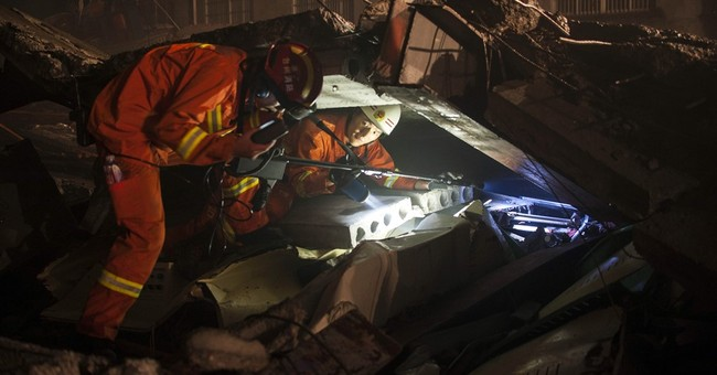 Shoe factory collapses in eastern China, killing 14 people