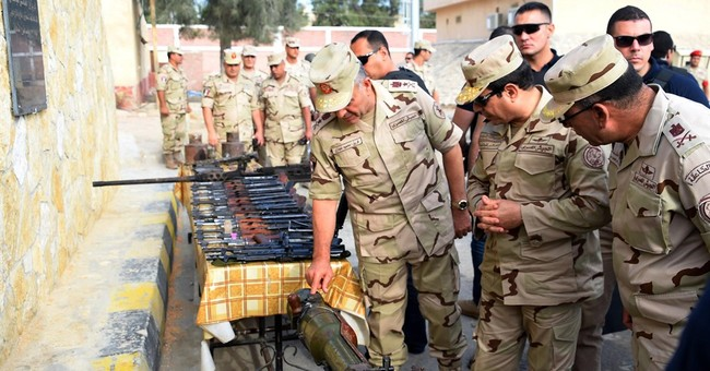 Egypt foiled extremist 'state' in Sinai, president says