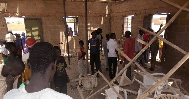 Suicide bomber explodes at northeast Nigeria church, 5 dead