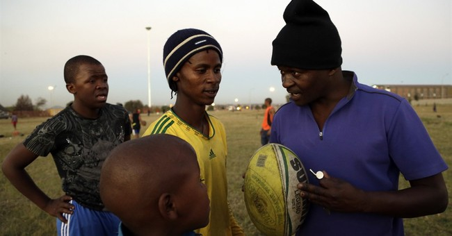 Dreams of victory for a struggling South African rugby team
