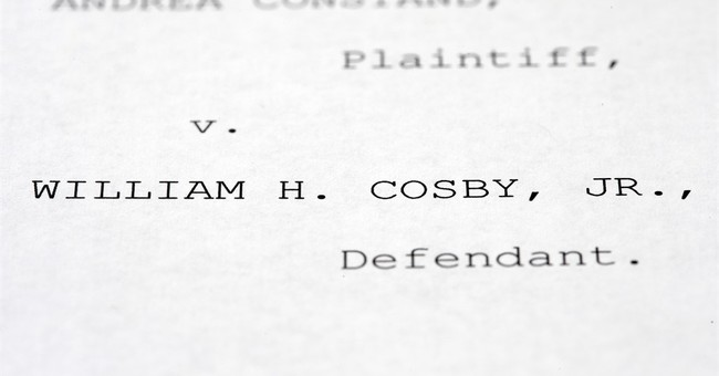 The Latest: Accuser's lawyers say Cosby words support claims