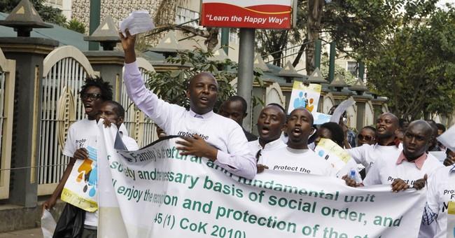Low turnout marks anti-gay demonstration in Kenya
