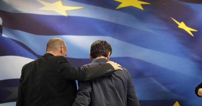 Greece's departing finance minister, brash to the end