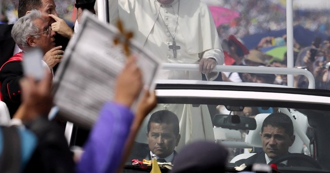Pope presses environment message in bio-diverse Ecuador