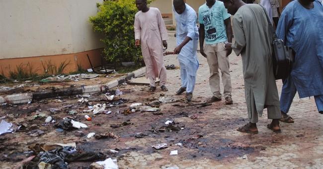 Bomb blamed on Boko Haram kills 20 in northern Nigeria