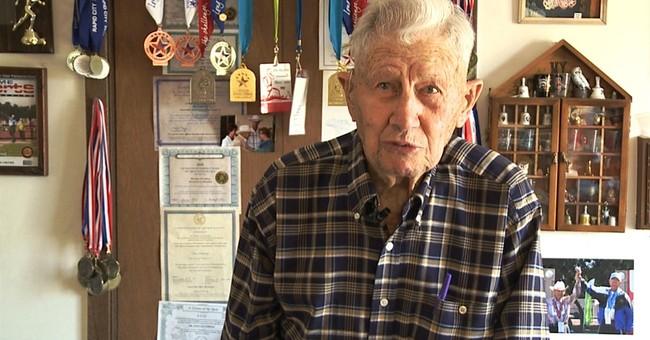 South Dakota man, 101, competes in National Senior Games