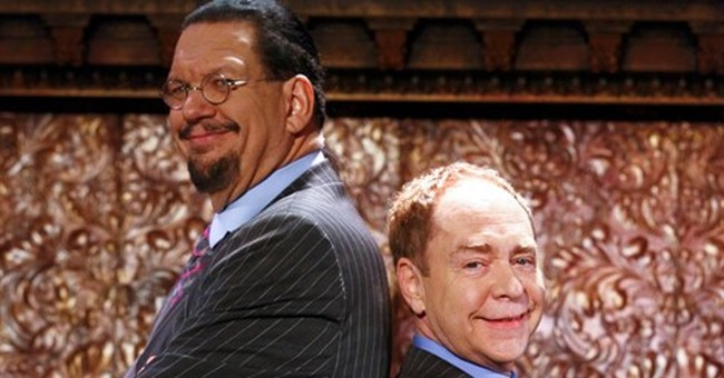 Penn & Teller aim to work their brand of magic on Broadway