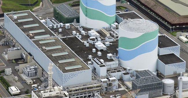 Reactor in Japan being loaded with nuke fuel before restart