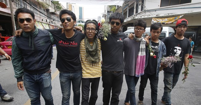 Thai military court to release 14 students ahead of trial