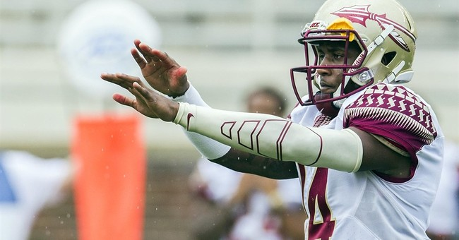 FSU QB Johnson off team after video shows him punching woman