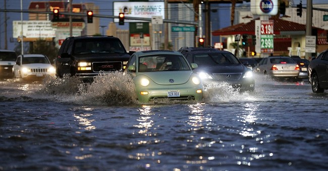 More rain possible after flash flooding in Las Vegas